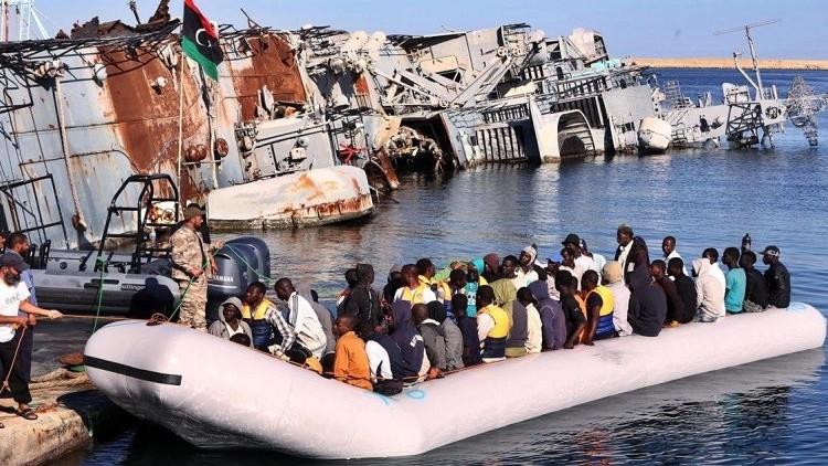 صورة سواحل ليبيا تشهد غرق 11 مهاجرا.. و200 مفقود
