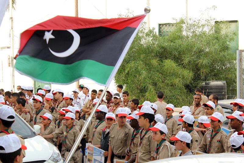 Photo of كشافة ليبيا يرسمون معان تراثية وأخوية في الزاوية