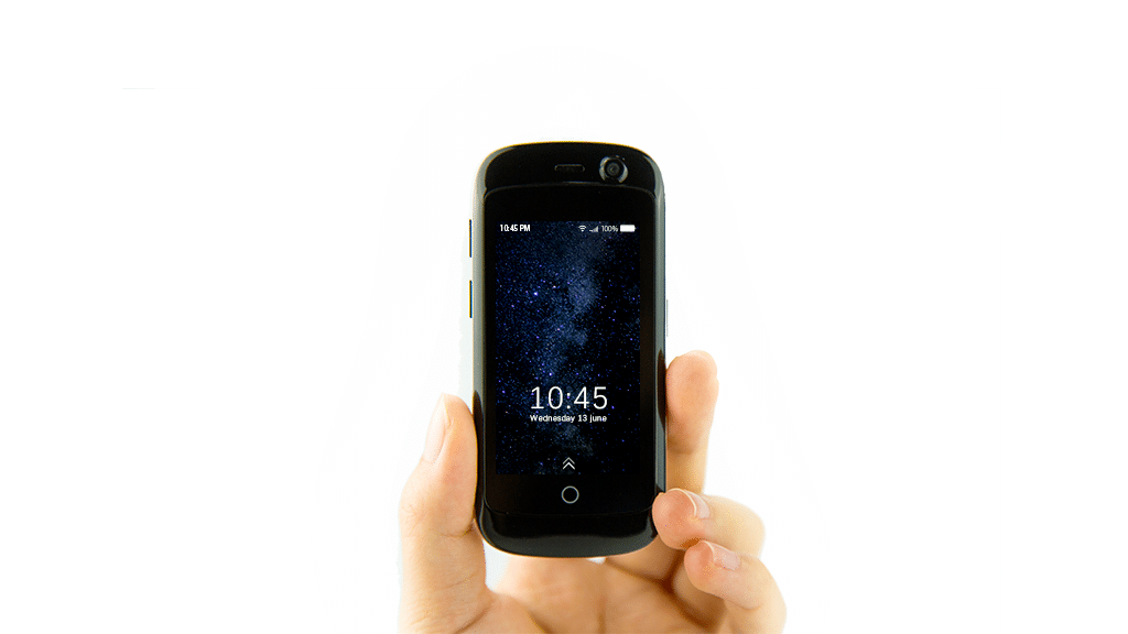 """صورة """"جيلي"""" أصغر هاتف بالعالم قد يتفوق على """"العملاقين"""""""