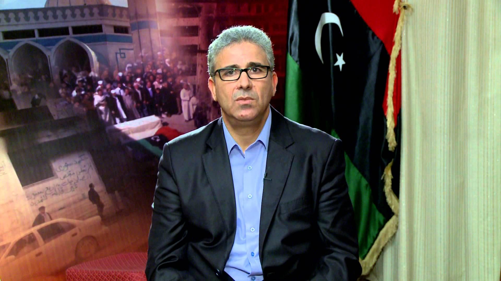 """صورة باشاغا مُغردا: جريمة """"وطنية وأخلاقية"""" في طرابلس"""