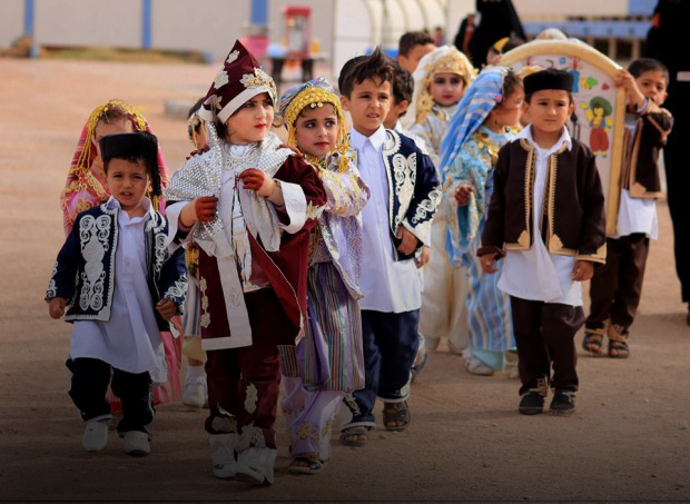 اطفال ليبيا في