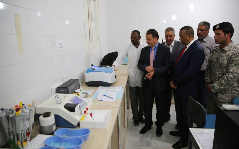 وزير الصحة في الحكومة المؤقتة الدكتور رضا العوكلي