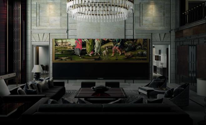 صورة تلفزيون يحوّل منزلك إلى سينما.. كم سعره؟