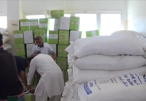 سلال رمضانية تطرق باب المحتاجين في طبرق