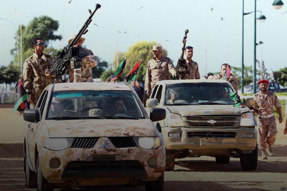 الجيش الوطني-بنغازي