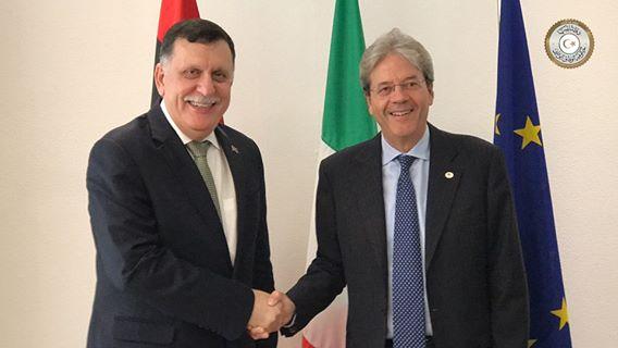 "Photo of السراج يريد دورا أوروبيا لرفع ""المعاناة عن الليبيين"""