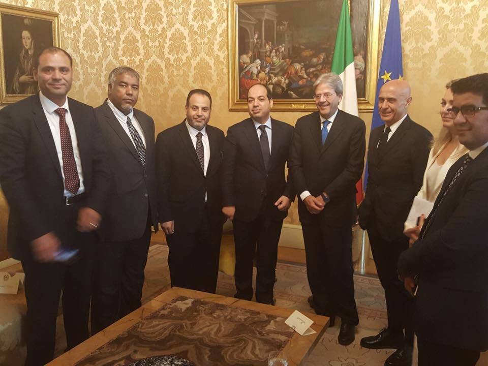 مباحثات ليبية إيطالية في روما لتحريك الاقتصاد