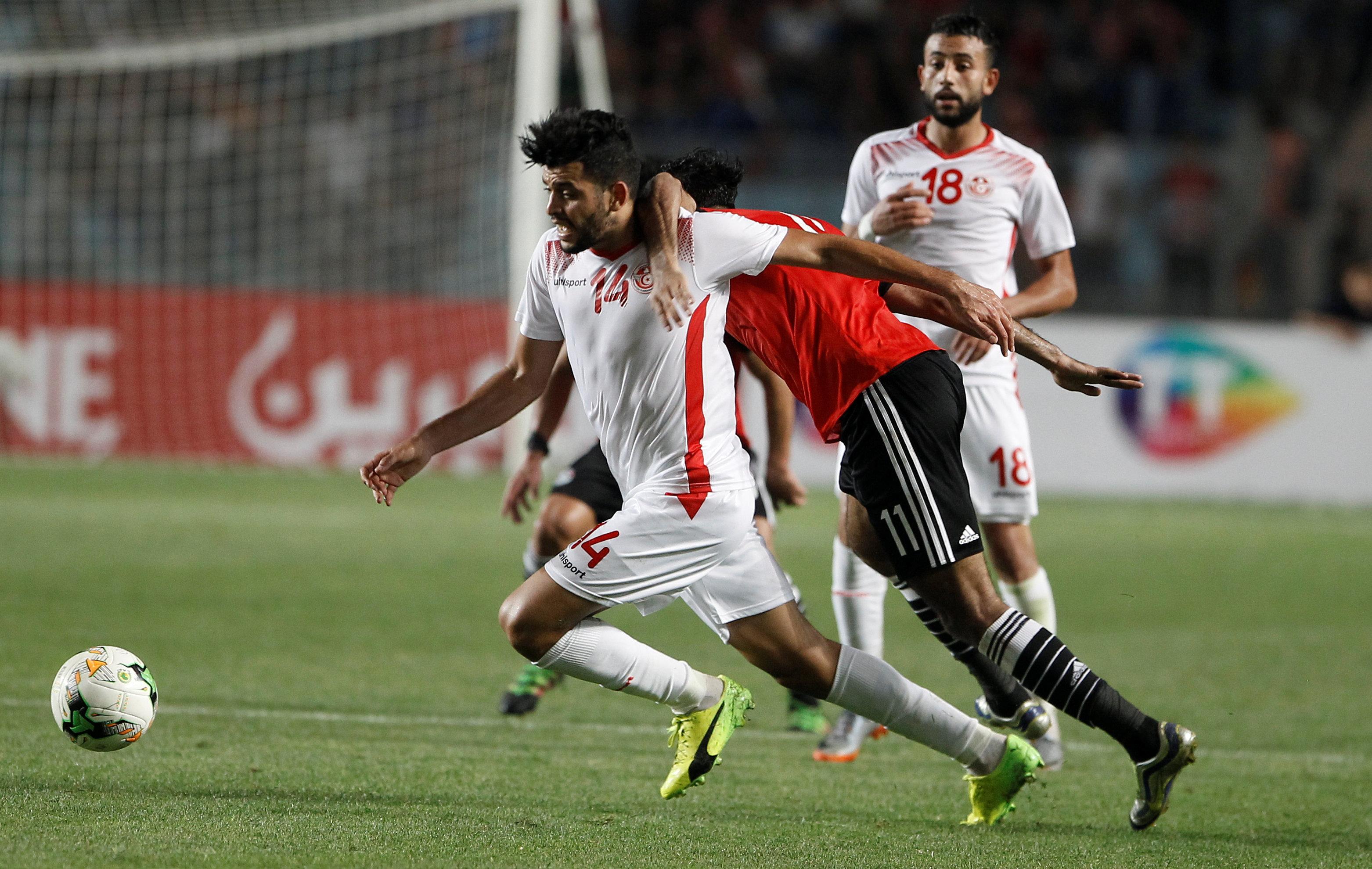 مباراة تونس ومصر