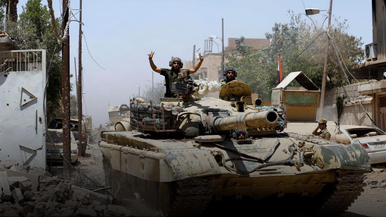 نهاية دولة داعش في العراق