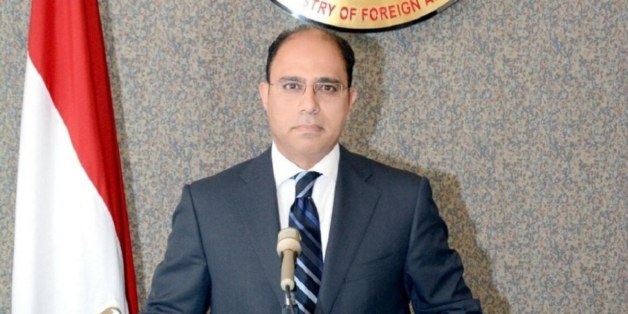 المتحدث الرسمي باسم وزارة الخارجية المصرية أحمد أبو زيد