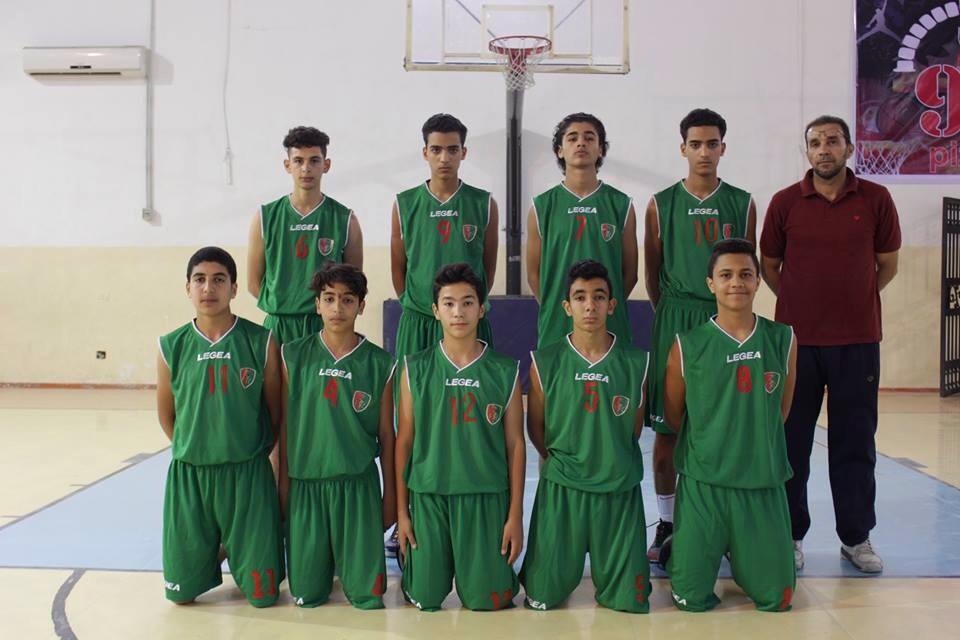الوحدة لكرة السلة فئة الأشبال