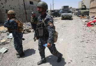عناصر من القوات العراقية في الموصل