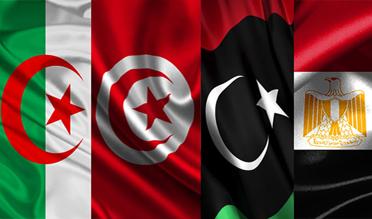 قائمة مصرية تونسية جزائرية
