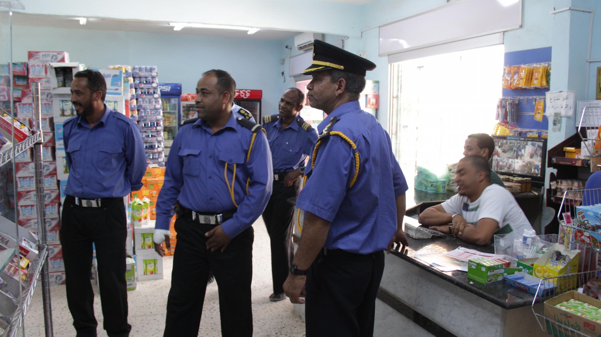 الحرس البلدي في مدينة جالو