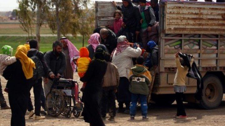 محاصرين في الرقة