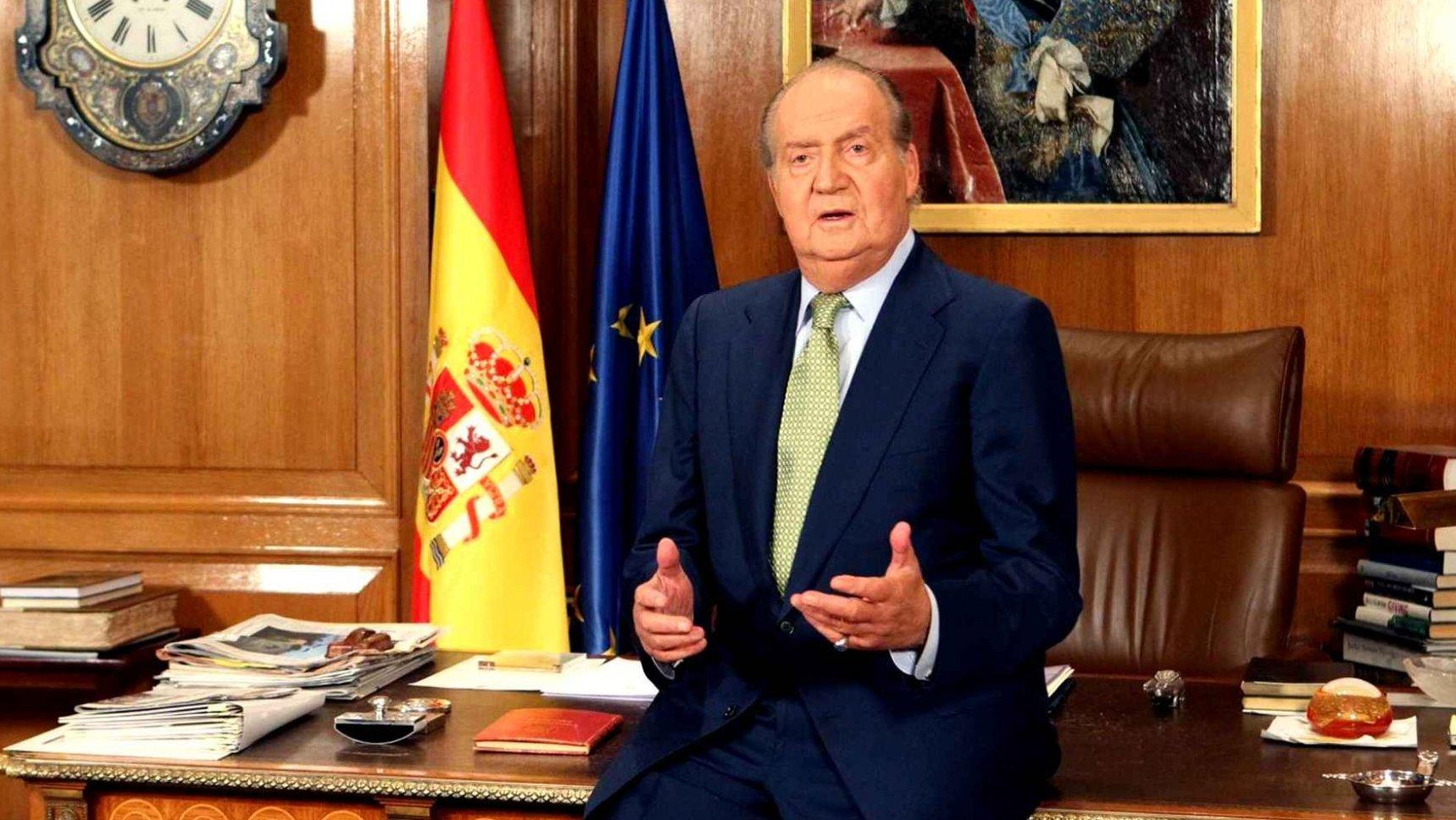 ملك إسبانيا السابق خوان كارلوس