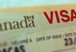 تأشيرة كندية