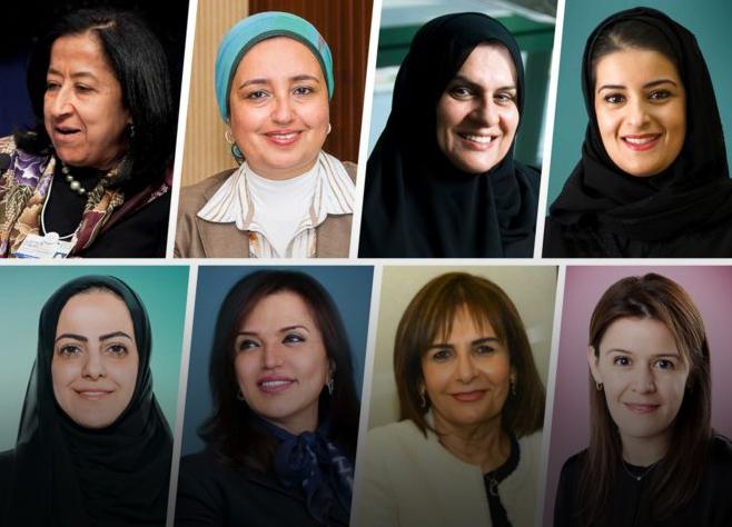 قوى 10 نساء عربيات