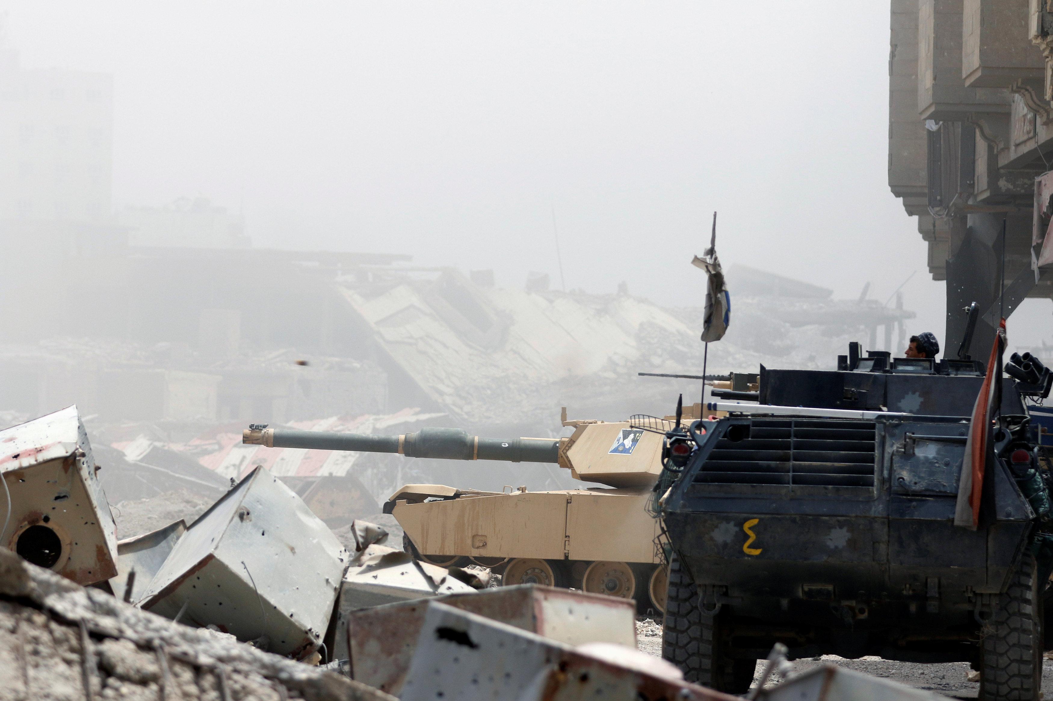 إعلان النصر على داعش الموصل خلال ساعات