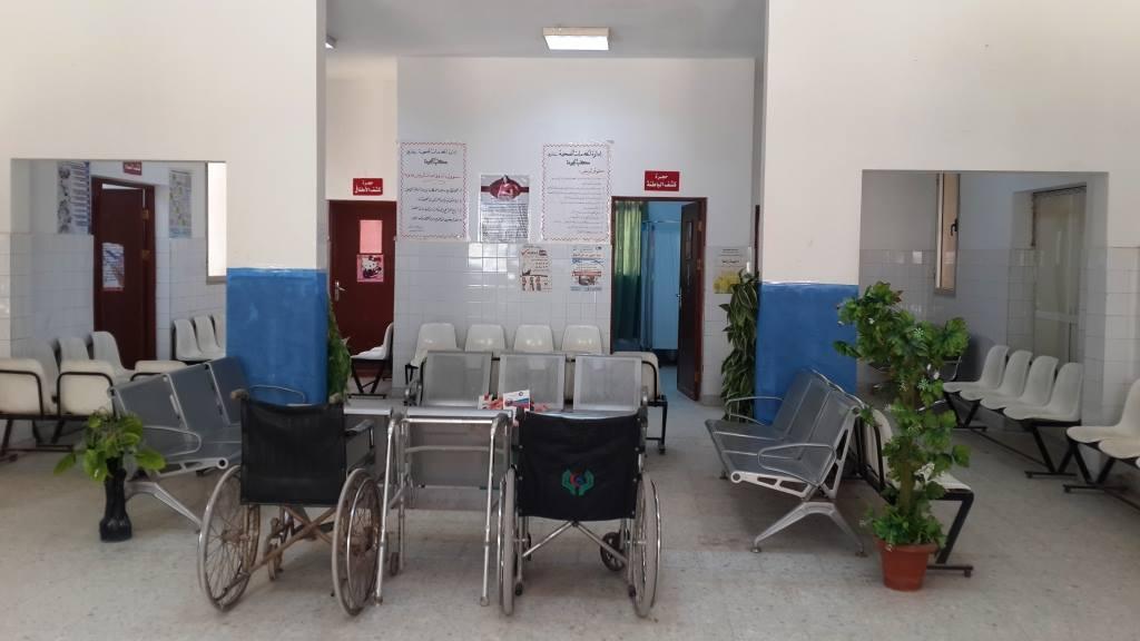 الخدمات الصحية بنغازي
