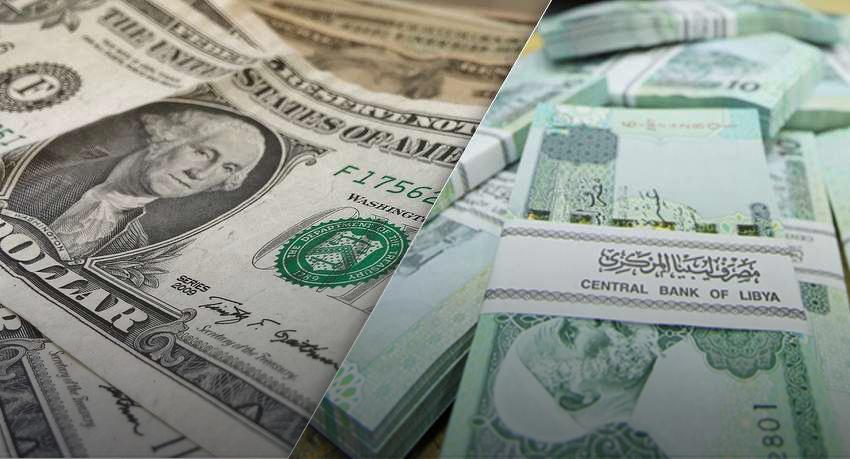 Photo of تراجع الدولار أمام الدينار الليبي