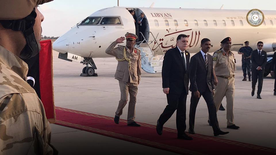 السراج من طرابلس الدولي
