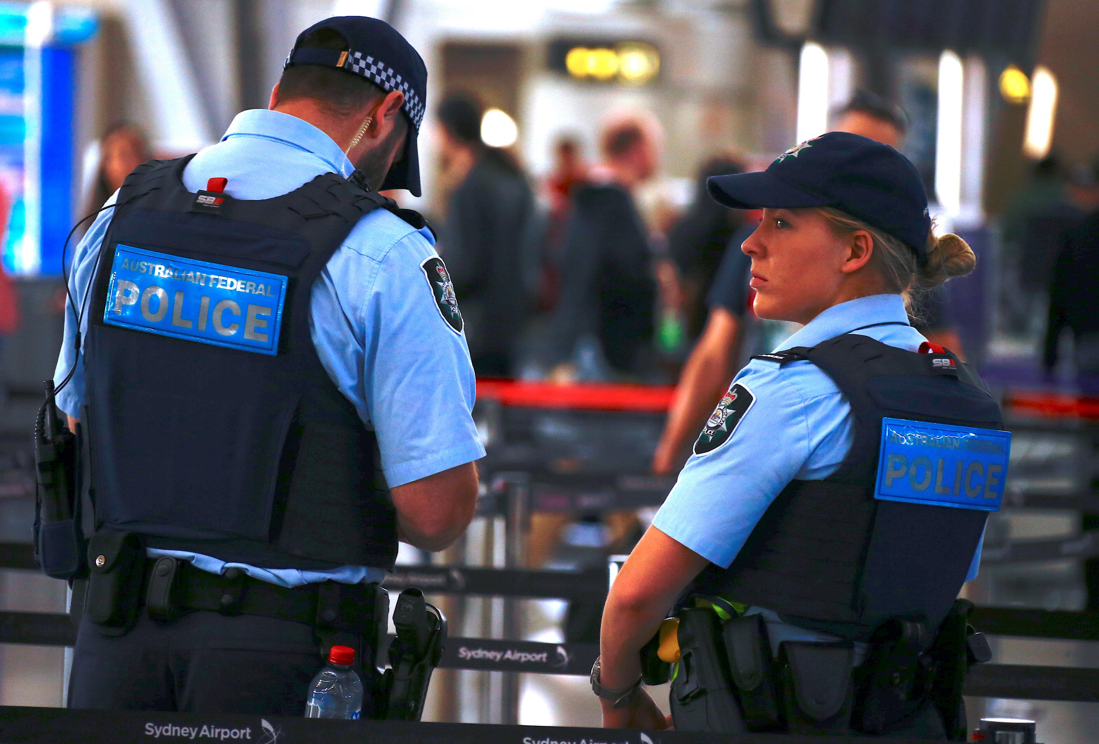 الشرطة الاتحادية الاسترالية
