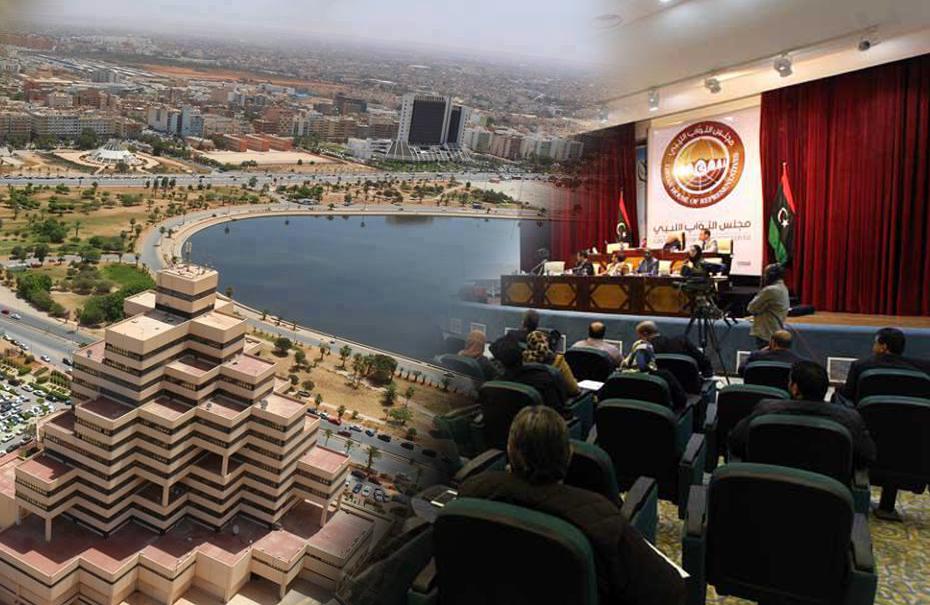 انتقال البرلمان إلى بنغازي