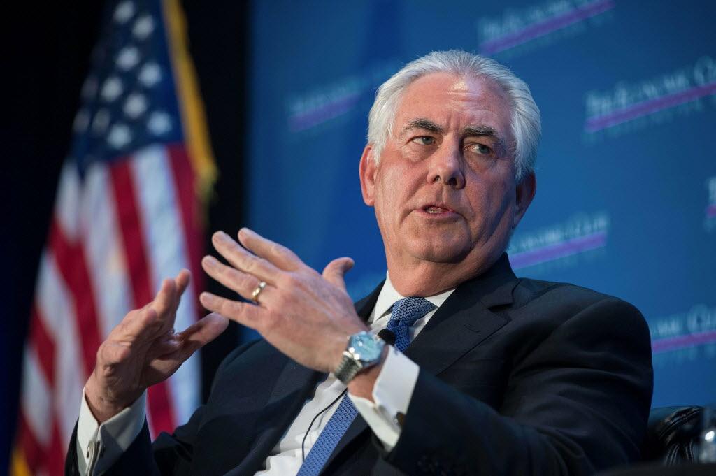 Photo of وزير الخارجية الأمريكي تيلرسون ينفي اعتزامه ترك منصبه
