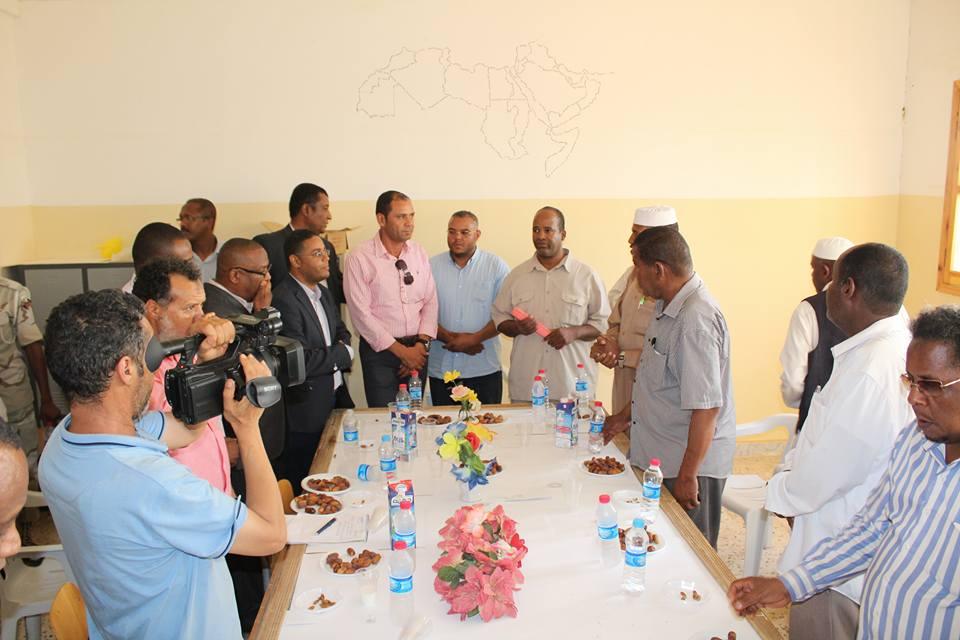 جولة تفقدية لتعليم الوفاق في أوباري