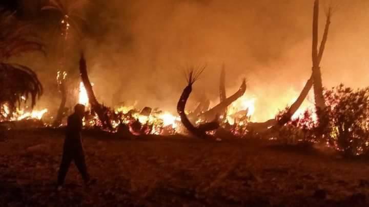 صورة 118 حريقا في زليتن خلال شهر واحد