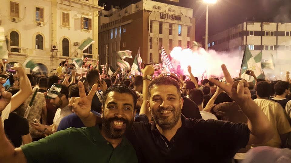 Photo of صافرة نهاية المباراة…بداية للأفراح في ليبيا