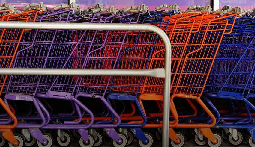 عربات التسوق
