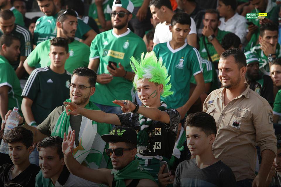 مباراة برج العرب بعيون ليبية..
