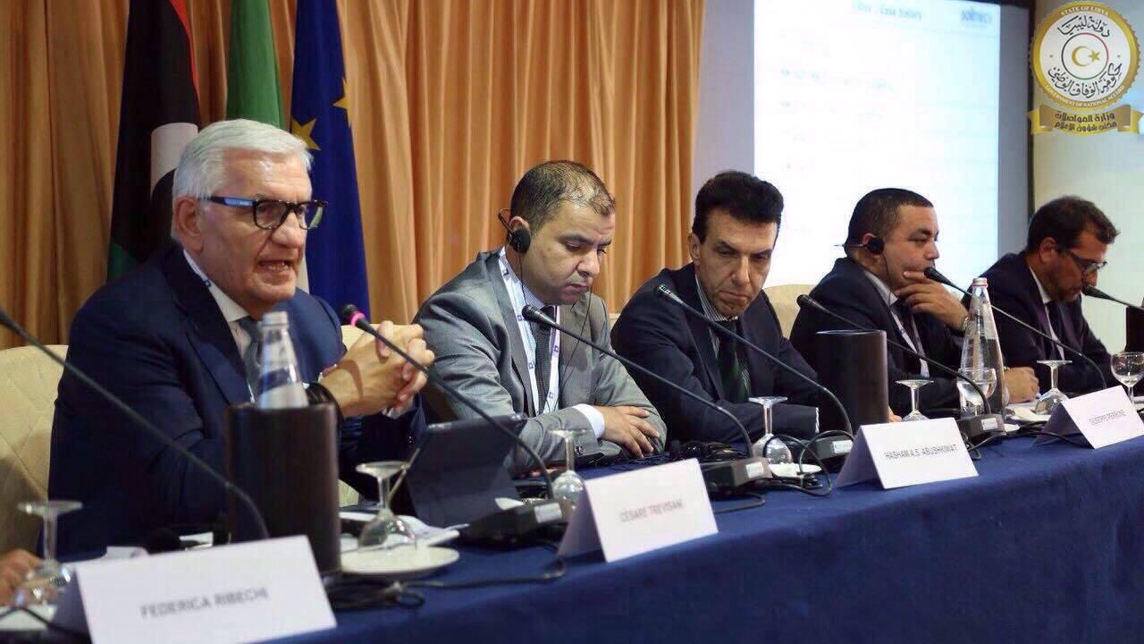 مواصلات الوفاق نسعى لتعاون إيطالي ورفع الحظر