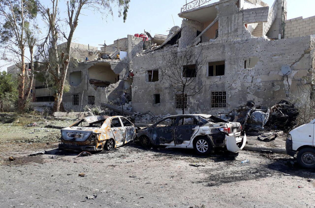 هجوم انتحاري بساحة التحرير في دمشق
