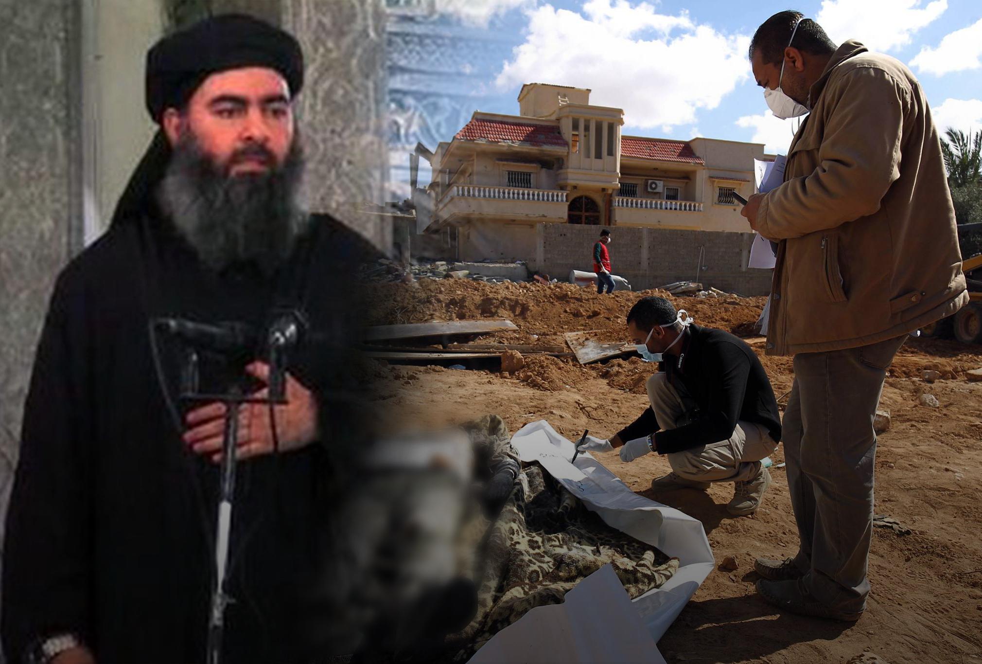هدايا البغدادي لـداعش ليبيا.. جثث و أعشاب جافة