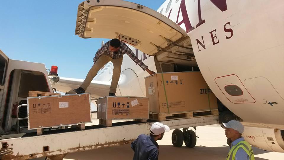 "Photo of استعدادات في غات .. بعد وصول معدات ""الواي ماكس"""