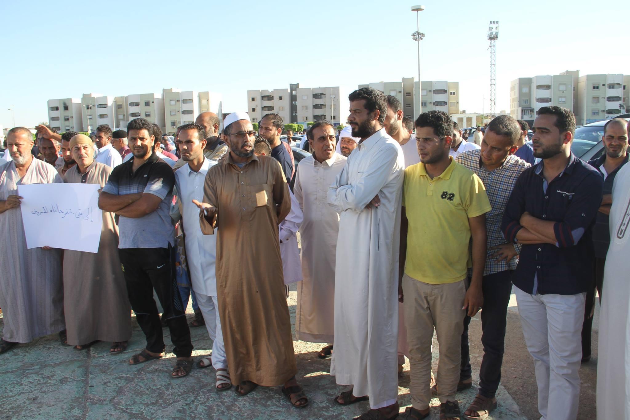 "Photo of وقفة احتجاجية: على "" بلدي سرت"" تحمّل مسؤولياته"