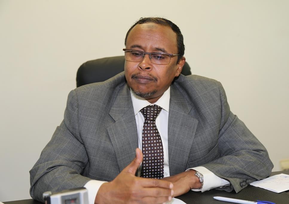 وكيل وزارة الخارجية و التعاون الدولي السوداني سليمان عوض
