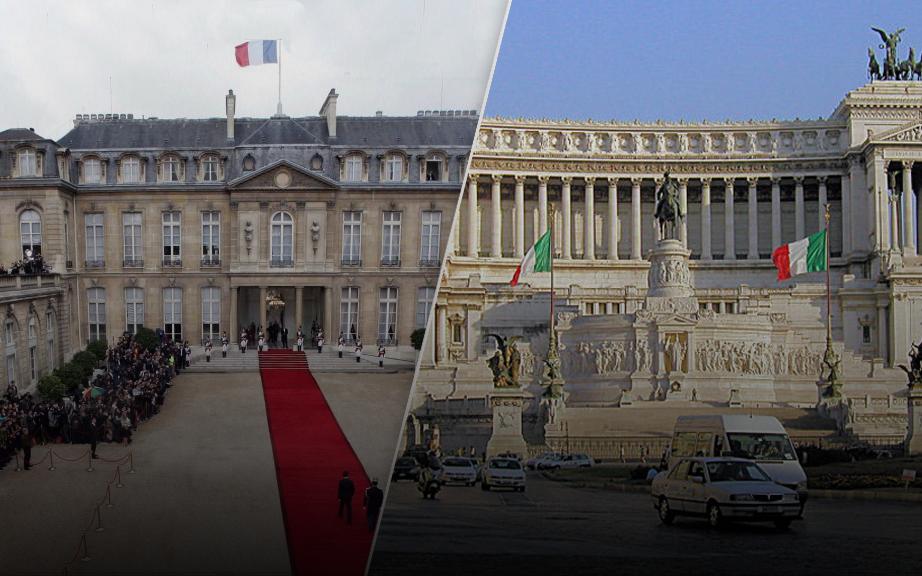إيطاليا وفرنسا