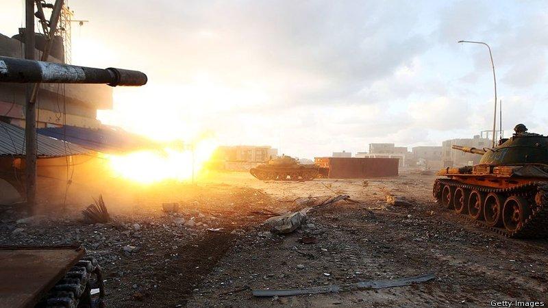 العمليات العسكرية في بنغازي