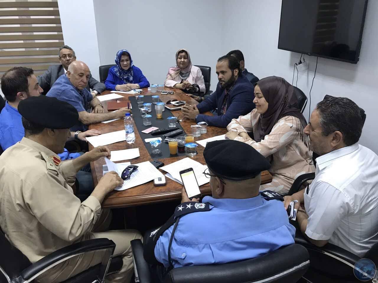 """Photo of اجتماع يبحث """"تأمين طرابلس"""".. ودمج التشكيلات بالأجهزة"""