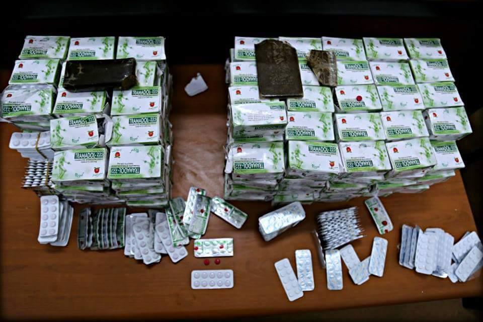 """Photo of """"معلومة"""" تقود لضبط كمية مخدرات كبيرة في اجدابيا"""