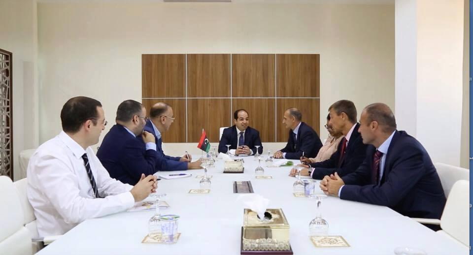 "Photo of ""الأمن في طرابلس"" على طاولة معيتيق وسيرا"