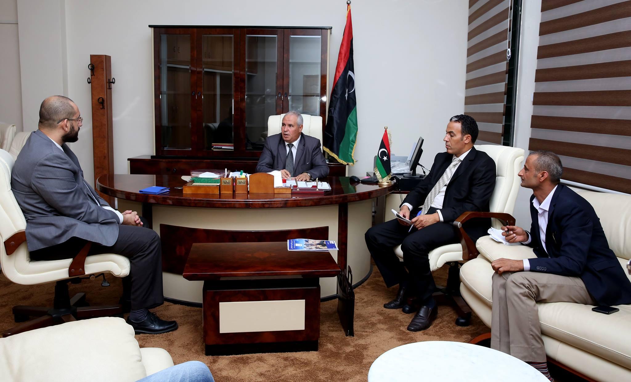 شؤون النازحين والمهجرين بحكومة الوفاق