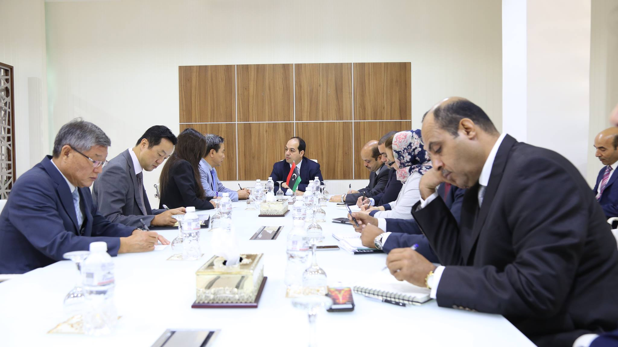 نائب المجلس الرئاسي أحمد معيتيق