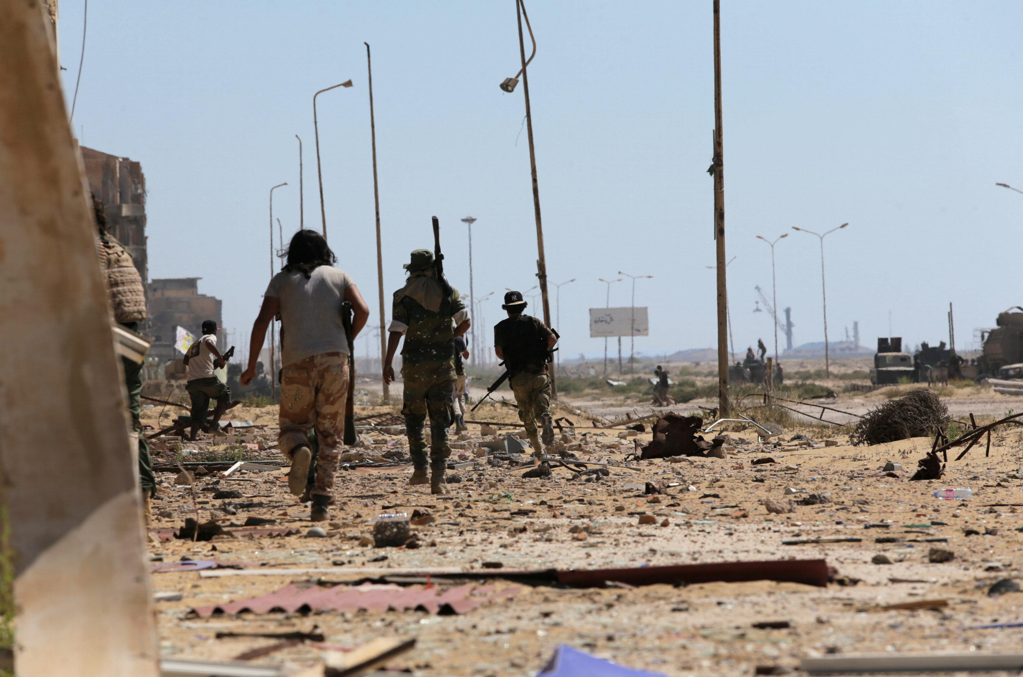 القوات الجيش في بنغازي