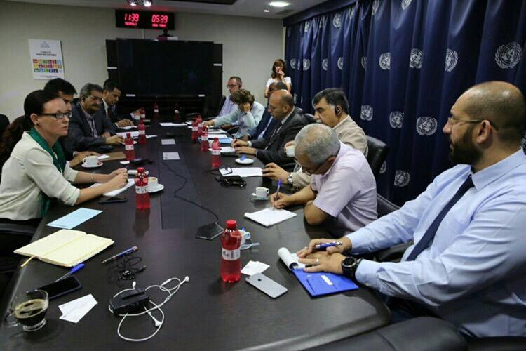 البعثة الأممية في بنغازي