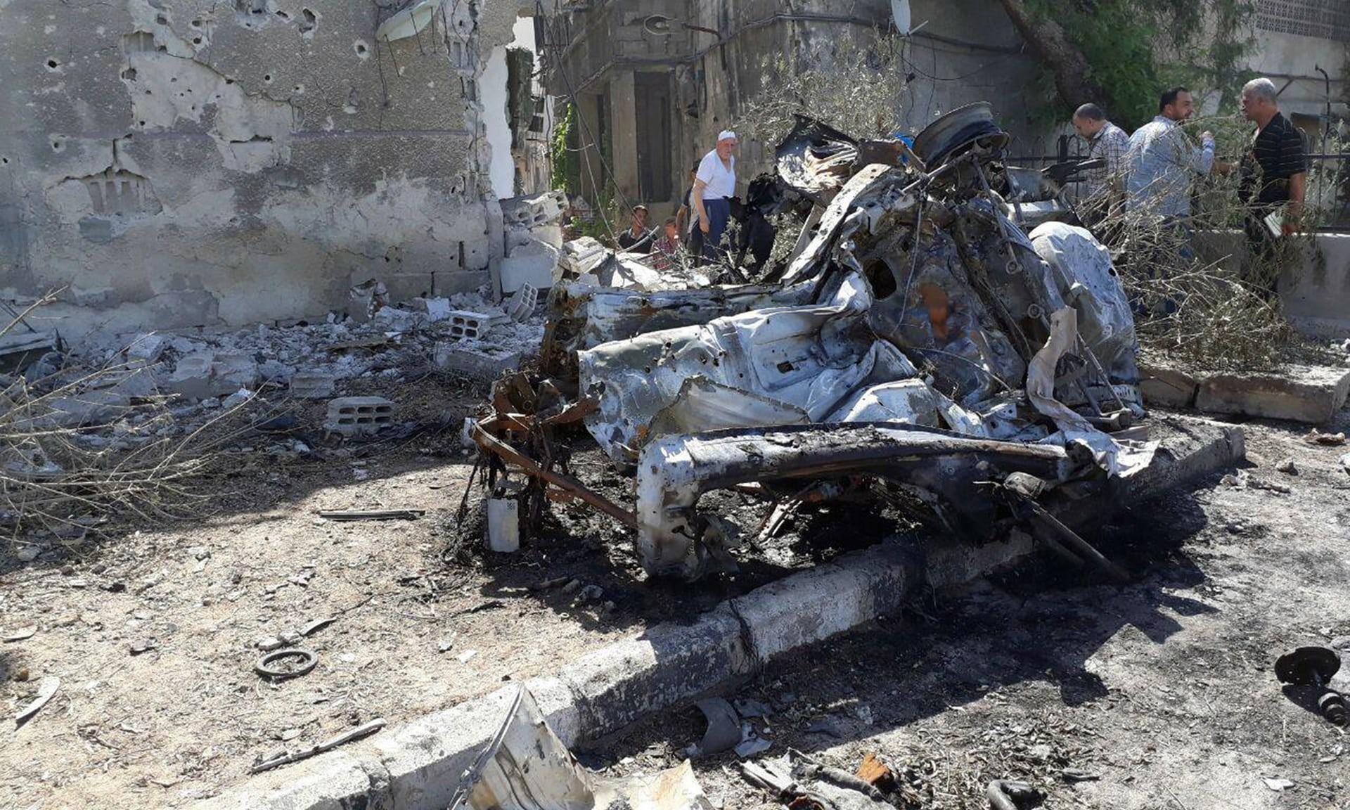 تفجير انتحاري في حلب السورية